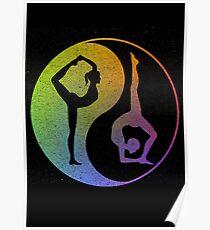 Yin and Yang Yoga Poster