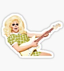 Trixie Mattel And a Guitar Sticker