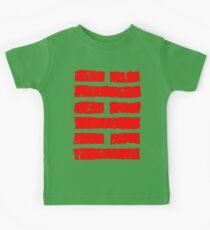 Arashikage Distressed Red Kids Clothes