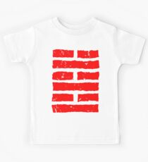 Arashikage Distressed Red Kids Clothes