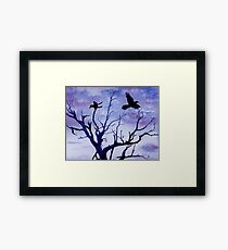 Twilight Flight Framed Print