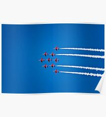 The Red Arrows at Dartmouth Regatta Poster