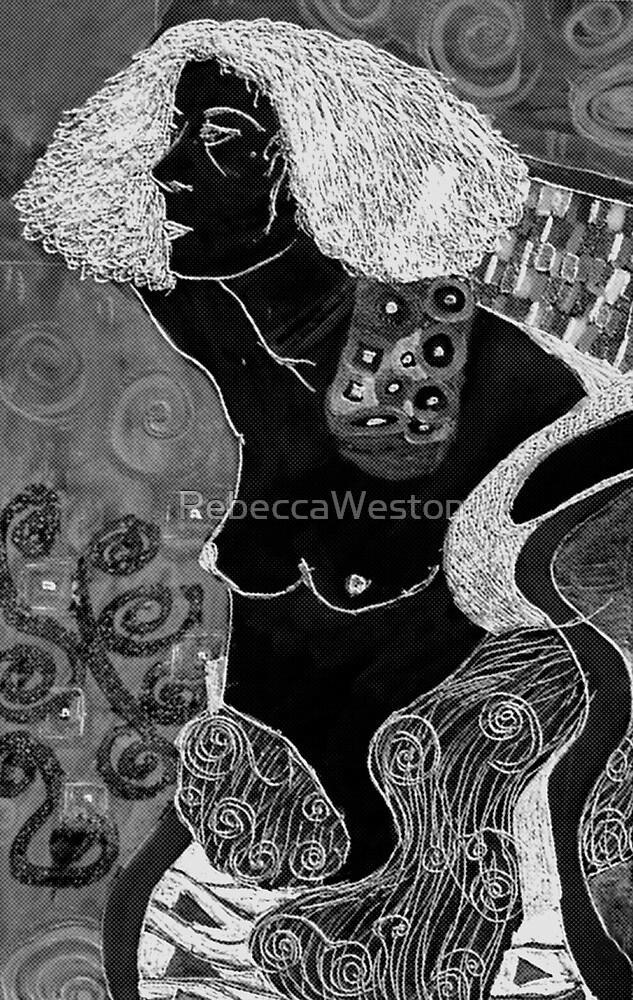 Judith [after Gustav Klimt] by RebeccaWeston
