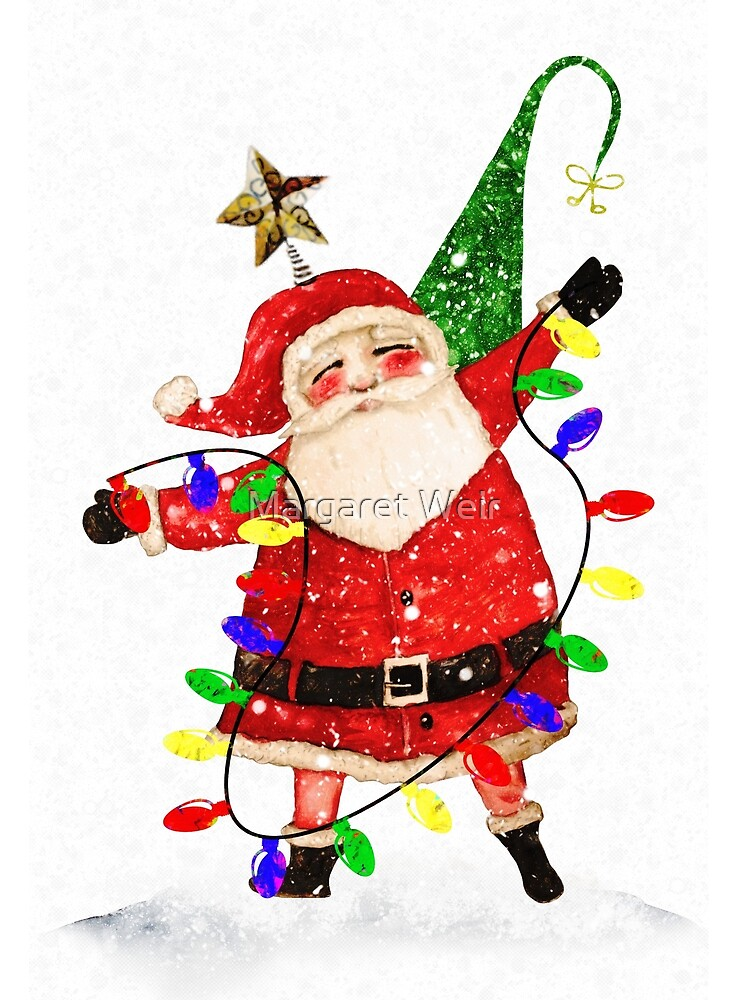 Santa Tree by Margaret Weir