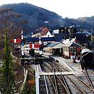 Llangollen Steam Railway Station by artfulvistas