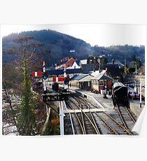 Llangollen Steam Railway Station Poster