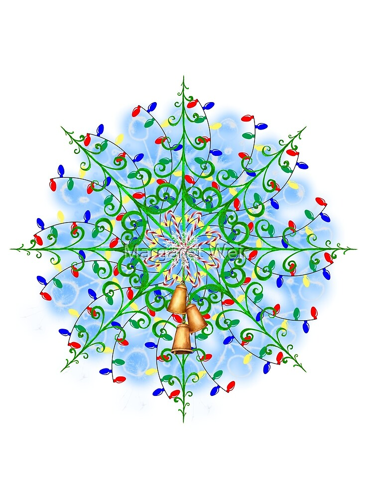 Christmas Abstract by Margaret Weir