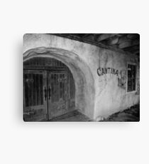 Old Tima Cantina Canvas Print