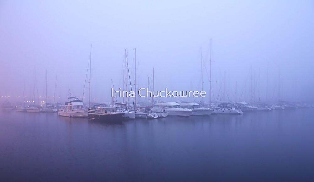 Blue Fog by Irina Chuckowree