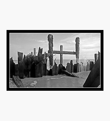 Tidal Destruction Photographic Print
