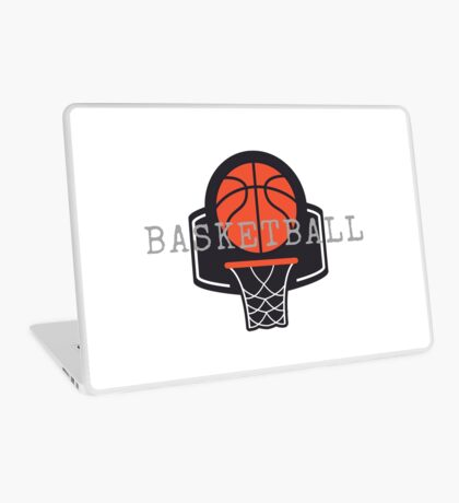 Basketball, Basketball Hoop, Basket Ball Laptop Skin