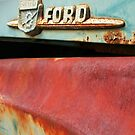 Old Ford Detail by Christopher Herrfurth