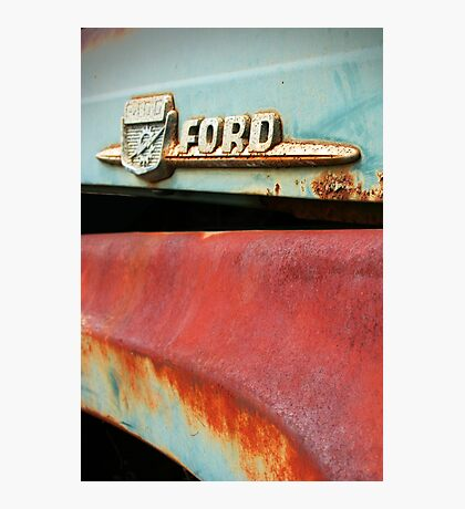 Old Ford Detail Photographic Print