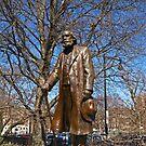 Edward Everett Hale Monument by Lee d'Entremont