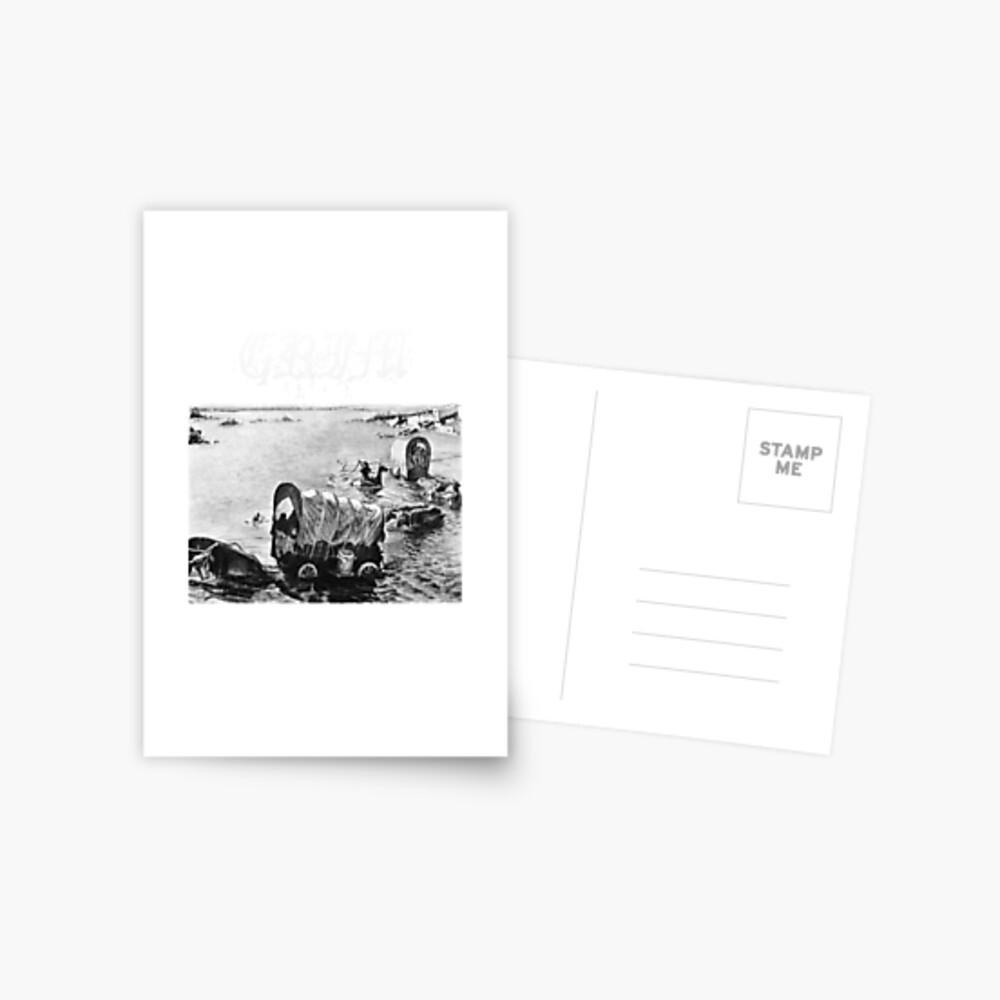 GRIMMIG Postkarte