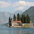 Island of Saint George, Bay of Kotor, Montenegro by Elena Skvortsova