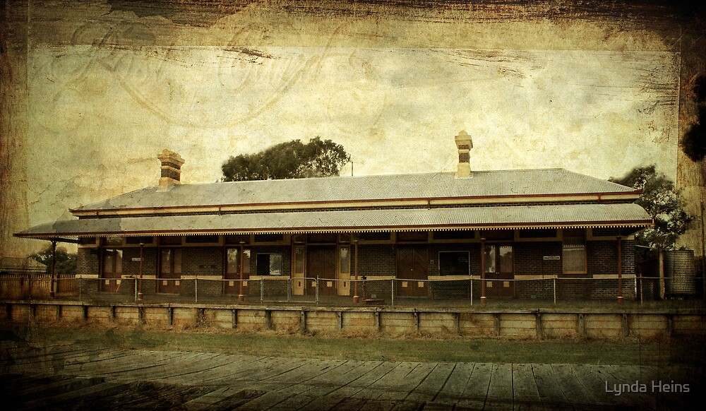 ~ Old Railway Station - Casterton ~ by Lynda Heins