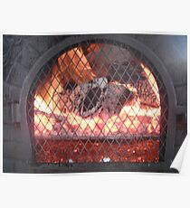 Fire place Poster