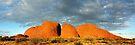 The Olgas (Kata Tjuta), Sunset, Australia by Michael Boniwell