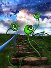 Love Crazed Perigee Moon Worms by Elizabeth Burton