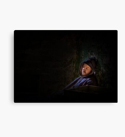In My Solitude Canvas Print