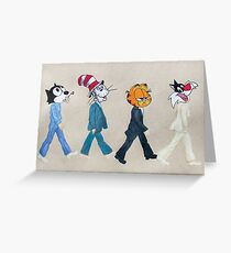 Tabby Road Greeting Card