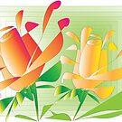Roses by IrisGelbart