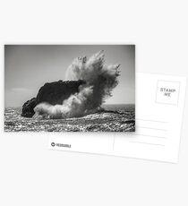 Eighty Foot Crash Postcards