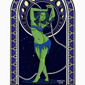 Trek Nouveau ~ Orion Slave Girl by merrypranxter