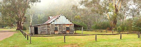 Frys Hut, Howqua Hills, Victoria, Australia by Michael Boniwell