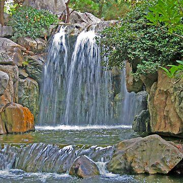 Waterfall of Friendship by Ramace