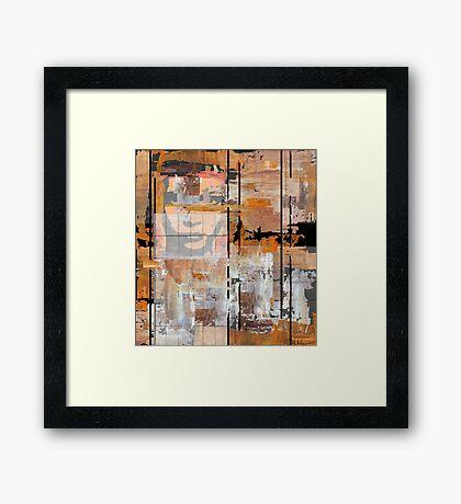 """Receding Mirage"" Framed Print"