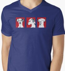 Dali x 3 - t shirt Mens V-Neck T-Shirt