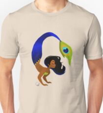 Tropical Peacock Mermaid Unisex T-Shirt