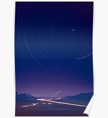 Kodachrome, Owens Valley Painted by Starlight Poster