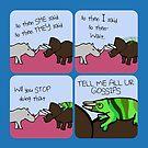 All The Gossips (Horned Warrior Friends) by jezkemp