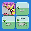 Rhino Origin Story (Horned Warrior Friends) by jezkemp