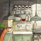 Kitchen Friend by Eunice Rosado