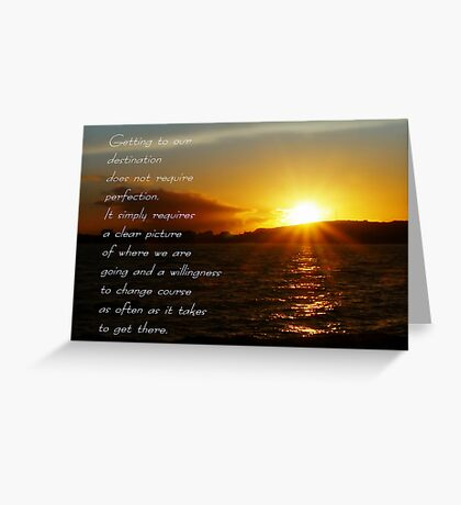 Your Destination Greeting Card