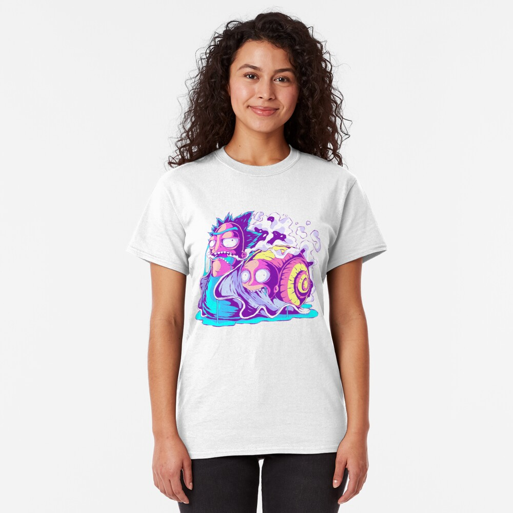 Rick and Morty Multiverse Snail Classic T-Shirt