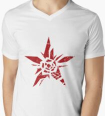 Rising Star | No More Heroes 2 Men's V-Neck T-Shirt