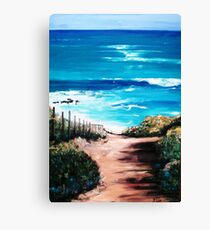 Mornington Peninsula Beach Canvas Print