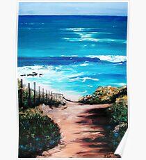 Mornington Peninsula Beach Poster