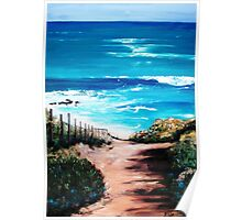 Mornington Peninsula Beach Poster
