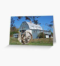 Mill Wheel Greeting Card