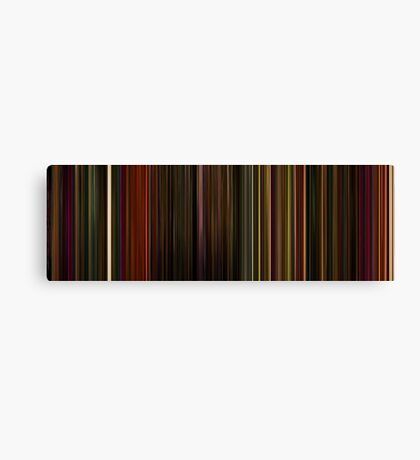 Moviebarcode: Enter the Void (2009) Canvas Print
