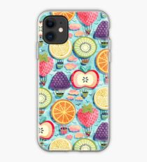 Fruity Hot Air Balloons  iPhone Case