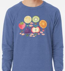 Fruity Hot Air Balloons  Lightweight Sweatshirt