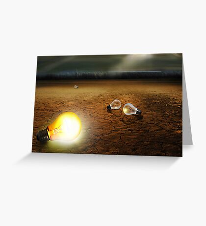 Light On Greeting Card