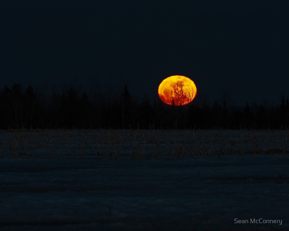 Supermoon by Sean McConnery